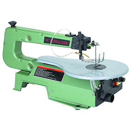 "16"" Central Machinery Variable Speed Scroll Saw review"